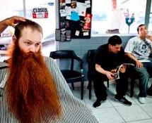 как помыть бороду