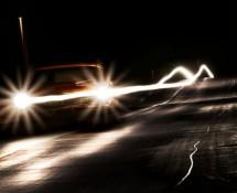 свет на дороге и опьянение за рулем
